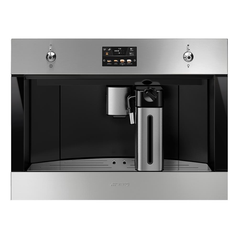 เครื่องทำกาแฟบิวท์อิน เครื่องชงกาแฟบิวท์อินแรงดัน SMEG CMS4303X เครื่องใช้ไฟฟ้าในครัว ห้องครัว อุปกรณ์ BUILT-IN COFFEE M
