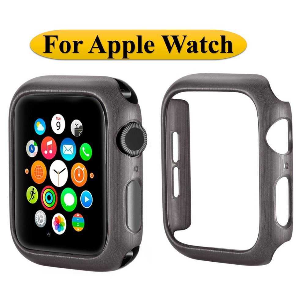 Apple Watch Case PC Hard Protective Frame For Apple Watch Series 6 5 4 3 2 1,Apple Watch SE iWatch Cover 38mm 40mm 42mm 44mm iWatch Bumper AppleWatch Cover