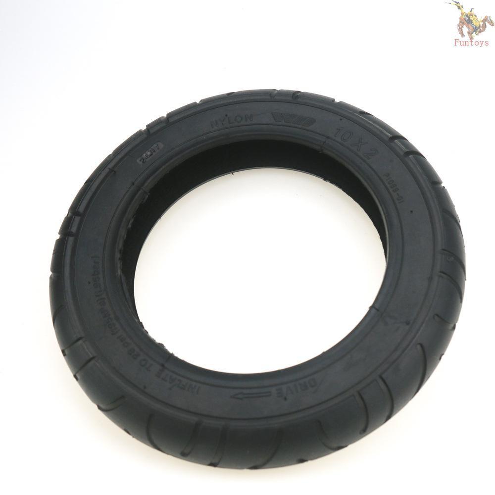 futo ล้อยางรถยนต์ 10 นิ้วสําหรับ mijia m 365/pro electric scooter tire 10x2 inflating