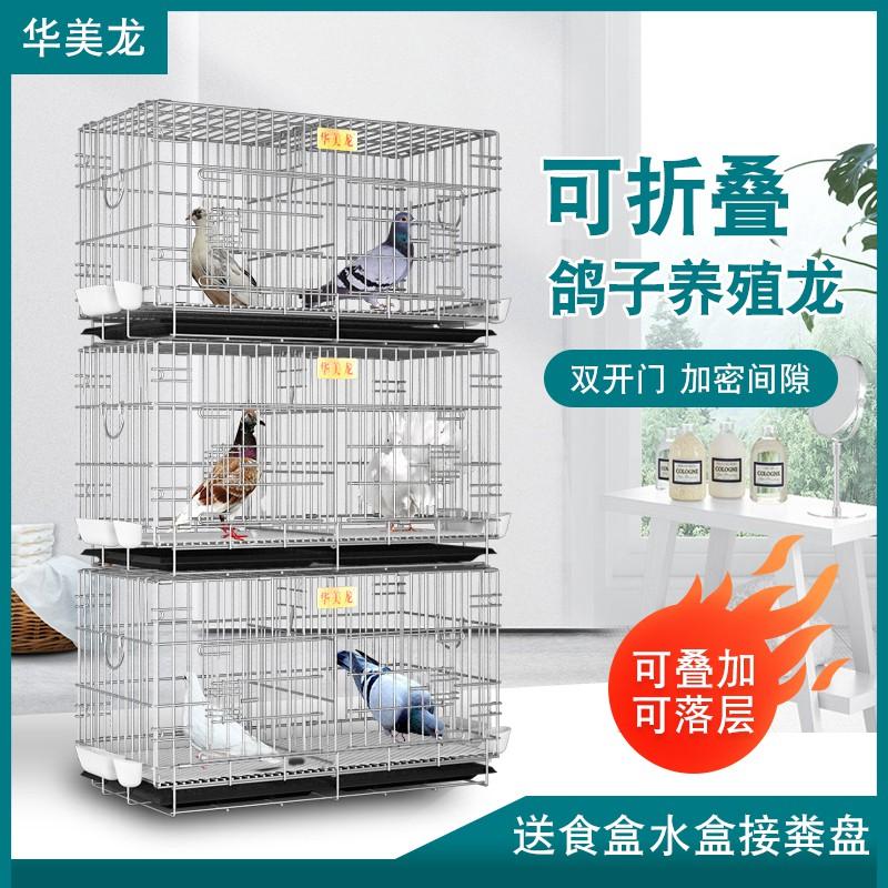 ✜ﺴ❄Dove cage home matching กรงกวาดล้างกรงนกกรงเพาะพันธุ์ใหญ่ คู่กรงรังกล่องเล็กกรงนกพิราบพกพา