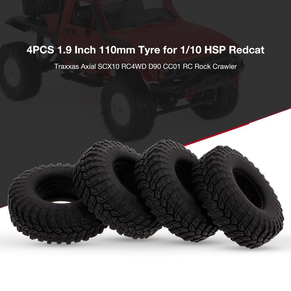 "4Pcs 1.9/"" RC Wheel Center Hub Caps for RC 1//10 SCX10 RC 4WD D90 CC01 Wheel Rims"