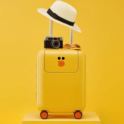 `☧รถเข็นเด็กMi Rabbit Trolley Sally Limited Edition กระเป๋าเดินทางข้าวฟ่าง17นิ้ว line กระเป๋าเดินทางนักเรียน20นิ้ว24นิ้ว