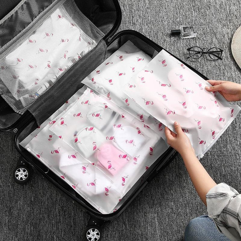 กระเป๋าเก็บชุดชั้นใน แบบใส กันน้ำ สำหรับเดินทาง