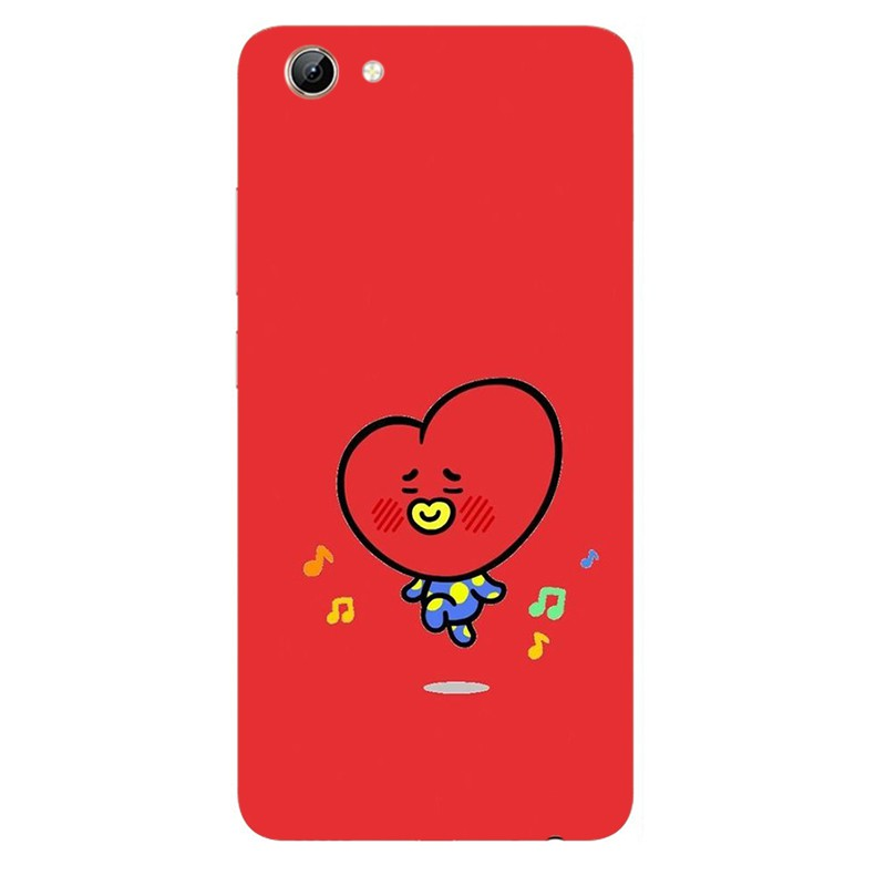 BTS BT21 silicone Case Vivo Y21 Y25 Y53 Y53i Y71 Y83 Y81 Y81i silicone  phone cover