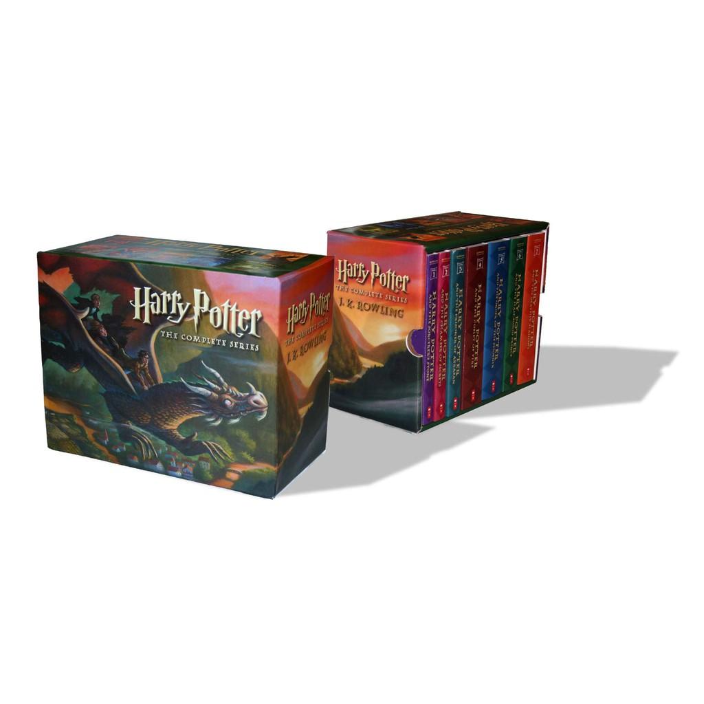 หนังสือภาษาอังกฤษ Harry Potter Paperback Box Set (Books 1-7) YqPy