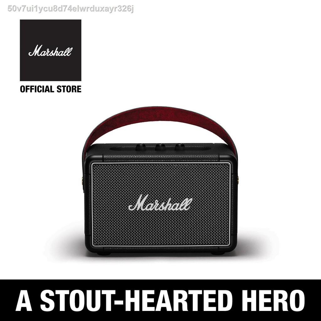 ✧ลำโพงบลูทู ธ Marshall Kilburn II Bluetooth สีดำ - ชั้น 1 ปี + ส่งฟรีทั่วไทย (ลำโพงบลูทู , ลำโพงพกพา, ลำโพงขนาดเล็ก, ลำ