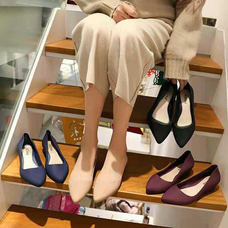Multi Shoes คัชชูเจลลี่ มีหลายสีให้เลือกสวย รองเท้าผู้หญิง รุ่น TX021 (มี4สี สินค้าพร้อมส่ง)