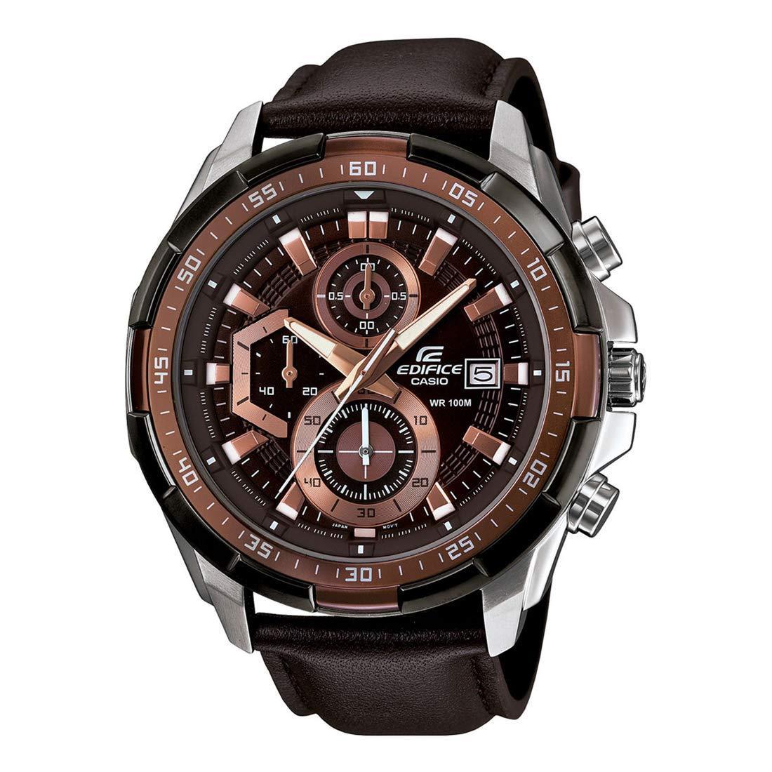 Casio Edifice รุ่น EFR-539L-5AV สินค้าขายดี นาฬิกาข้อมือผู้ชาย สายสแตนเลส (สินค้าใหม่ล่าสุด) N5gx