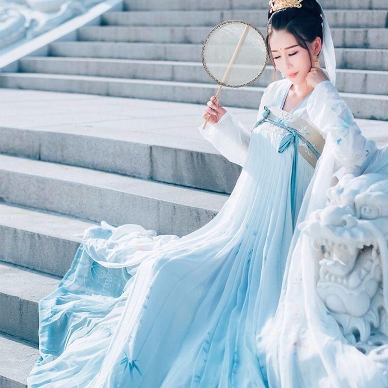 กระโปรงผ้าตาข่าย Palace Hanfu Cider ขนาดใหญ่
