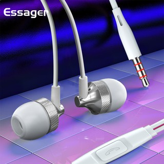 Essager In-Ear Headphones for IPhone Samsung Xiaomi Oppo Phone 3.5mm Jack Headphones with Mic Wired Earphone