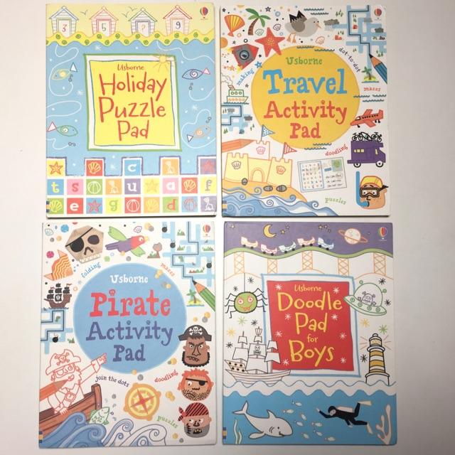 Usborne Activity and Puzzle Books