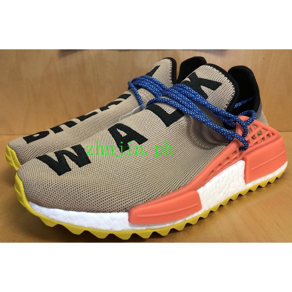100% authentic 96cd3 6bed2 รองเท้า Adidas NMD Human Race Trail Pharrell Williams Hu Cloud