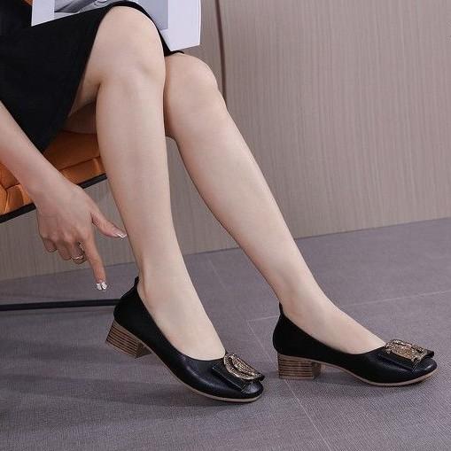 21-305 รองเท้าคัชชู : ดำ