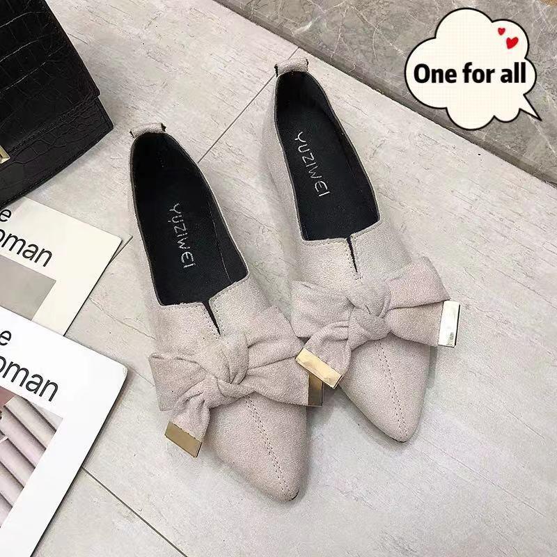 ❤️รองเท้าคัชชูผู้หญิง รองเท้าส้นแบนหัวแหลม รองเท้าคัชชู ส้นเตี้ย รองเท้าผู้หญิงแฟชั่น รองเท้า รองเท้าแตะลำลองแฟชั่นสำห❤️
