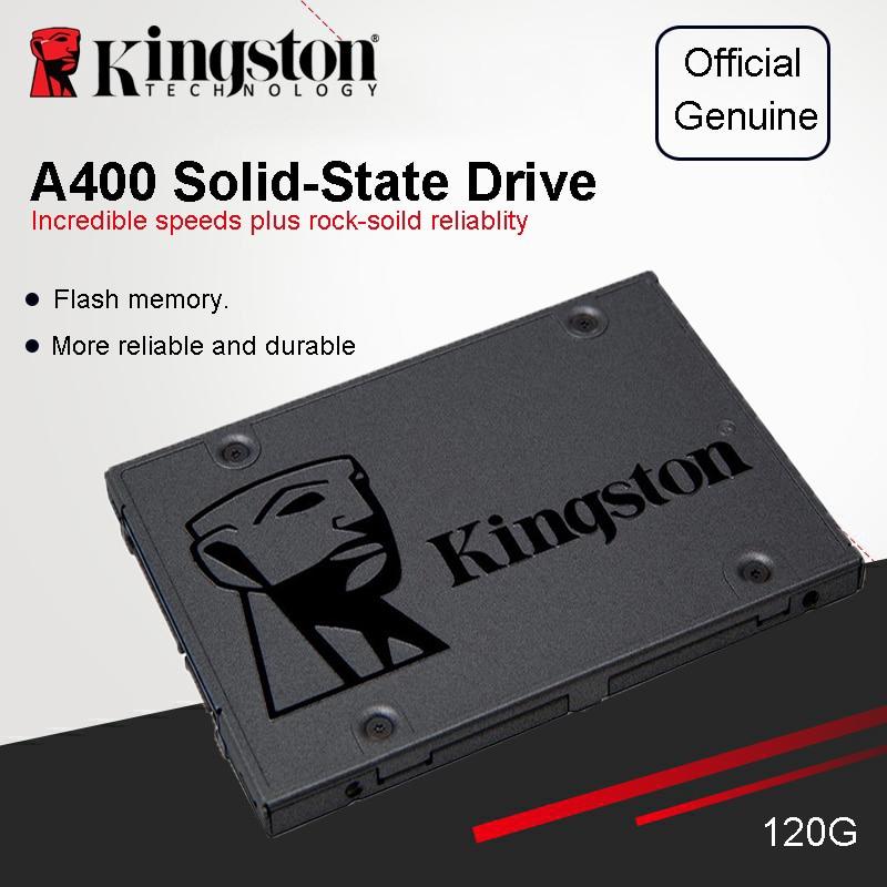 New Kingston 480GB SSD  2.5 Inch SATA III Internal 480GB A400 Solid State Drive