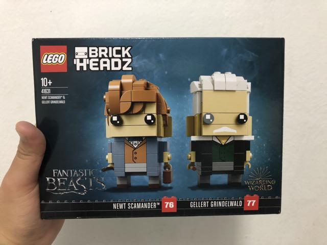 LEGO BrickHeadz 41631 Newt Scamander /& Gellert Grindelwald Fantastic Beasts