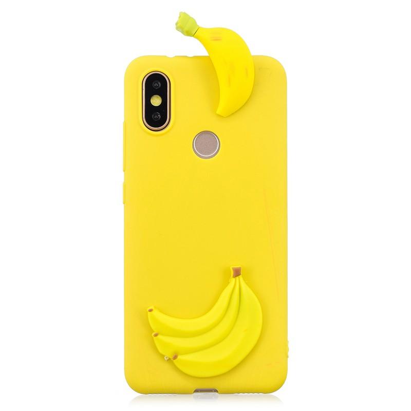 Xiaomi Redmi S2 Back Case Soft TPU 3D Cute Cartoon Slime Toy Doll Squishy Phone