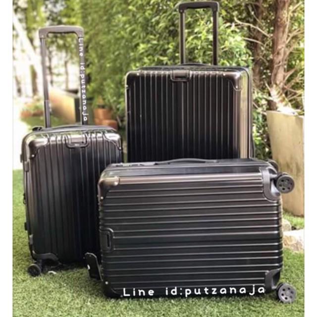 กระเป๋าเดินทางล้อลาก Luggage สไตล์ริโมว่า แบบซิป กระเป๋าล้อลาก กระเป๋าเดินทางล้อลาก
