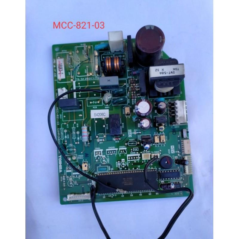 แผงวงจรแอร์  Toshiba Carrier/MCC-821-03 อะไหล่แท้มือสอง