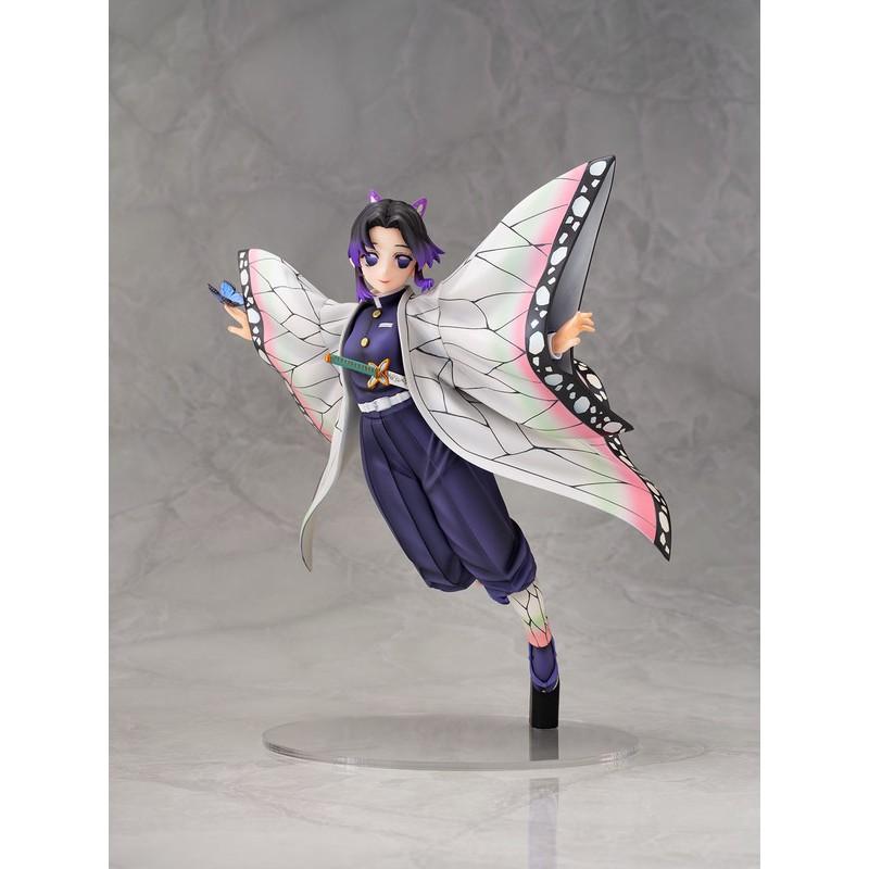 อะนิเมะ รูปอะนิเมะ Aoshima Funny Knights 1/7 Scale Demon Slayer Kimetsu No Yaiba Shinobu Kocho PVC Figure 8wGt