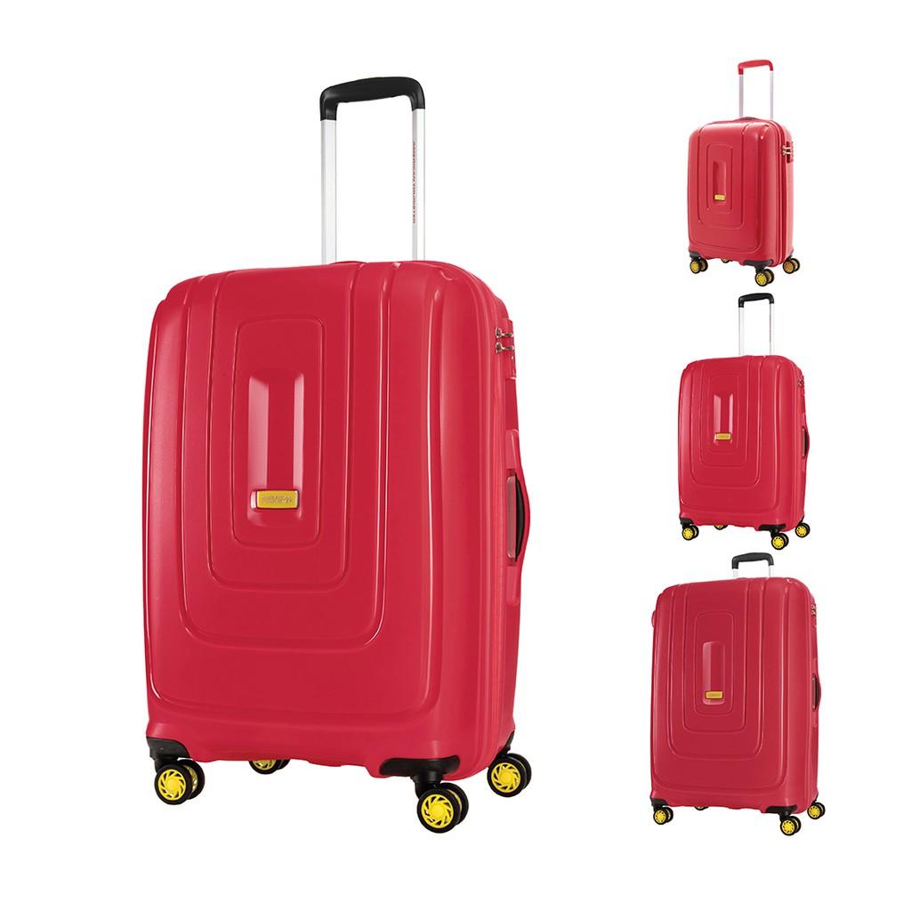 AMERICAN TOURISTER กระเป๋าเดินทางล้อลาก (20,25,29นิ้ว) รุ่น LIGHTRAX SPINNER EXP TSA สี ENERGETIC RED