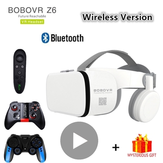 Bobo Bobovr Z6 Bluetooth Casque Helmet 3D VR Glasses Virtual Reality Headset For Smartphone Smart Phone Goggles Viar Bin