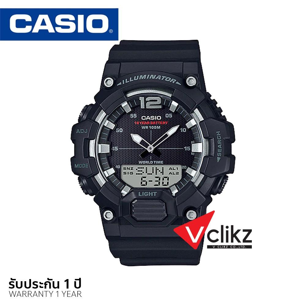 CASIO นาฬิกาข้อมือ สายเรซิ่น รุ่น HDC700-1A รับประกัน 1 ปี - vclikz