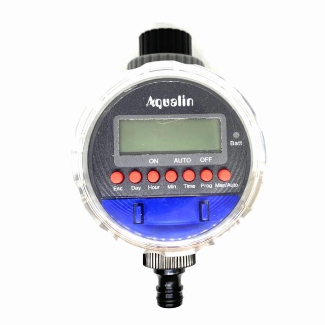 เครื่องตั้งเวลารดน้ำ ดิจิตอล ตัวตั้งเวลารดน้ำ อุปกรณ์ควบคุมตั้งเวลารดน้ำต้นไม้ อัตโนมัติ Aqualin water timer