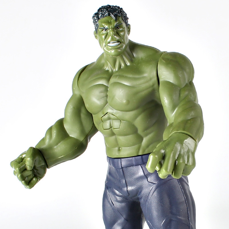 The Avengers 12 inch Action Figures Toy Hero Series Acoustooptic Gifts Kids Toys