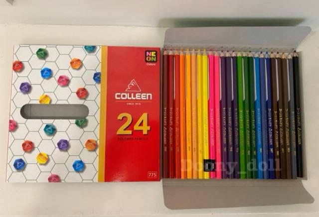 ?ถูกที่สุด!?สีไม้คอลลีน (Colleen) สีไม้ สีไม้colleen ดินสอสี ดินสอสีไม้ 12/24/36/48/60สี ของแท้ 100%