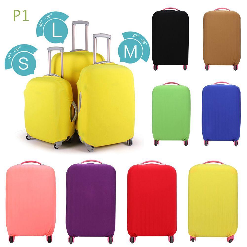 P1 ผ้าคลุมกระเป๋าเดินทาง ยืดหยุ่น ป้องกันรอยขีดข่วน ขนาด 18-30 นิ้ว