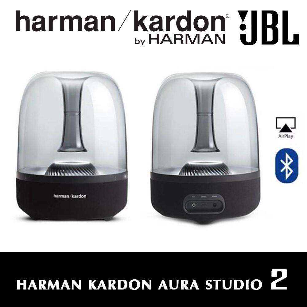 Harman Kardon Aura Studio 2 Home Wireless Bluetooth Speaker With Ambient Lighting Light