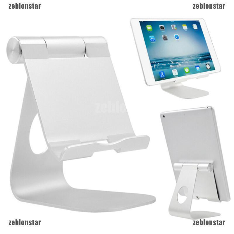 SUN55  Adjustable Aluminum Phone Tablet Stand Holder Mount Desktop For iPad/