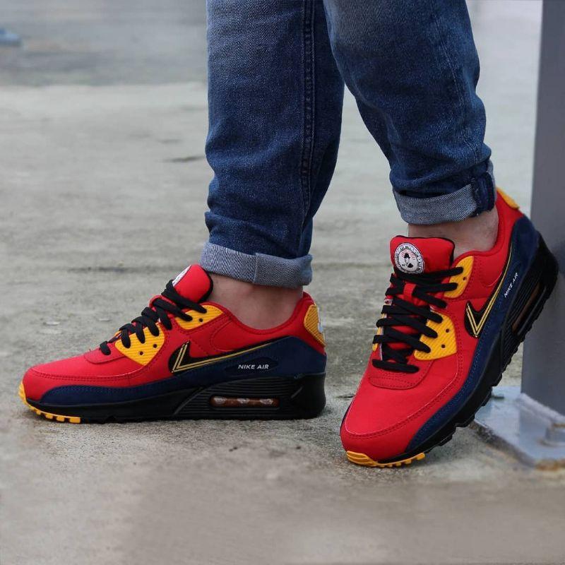 Nike Air Max 90 รองเท้านําเข้าพรีเมี่ยม