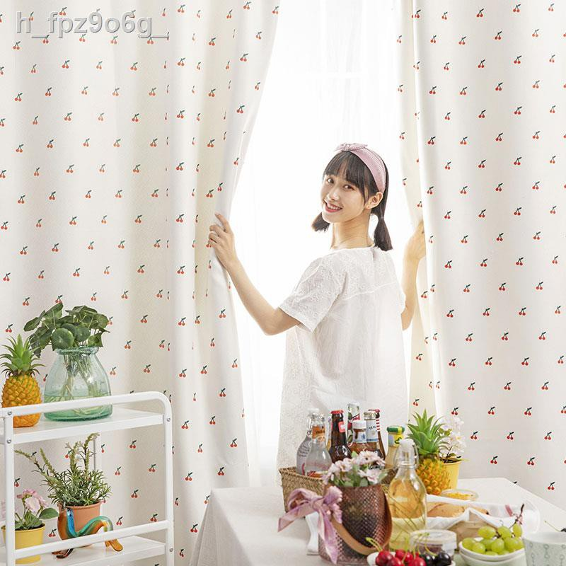 ☃หุบเขาเผือกหอม สีโดยไม่ต้องเจาะ เช่าผ้าม่านเรียบง่ายห้องนั่งเล่นผ้าพื้นพระแรเงาผ้าม่านสำเร็จรูป
