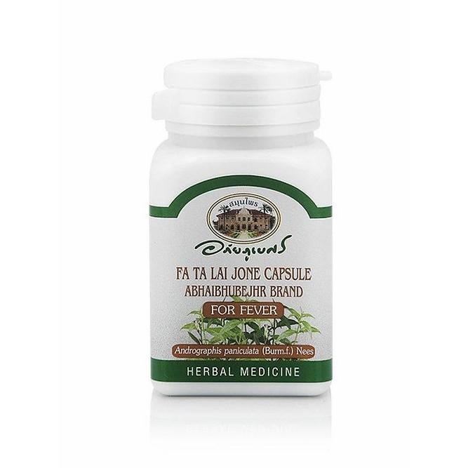 Abhai Fa Ta Lai Jone 400 mg 60 Capsules ฟ้าทะลายโจรสกัด 400 มล. 60 แคปซูล