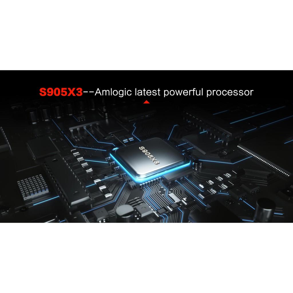 แรงดี คุ้มN5 Max x3 Rom 64G. Ram 4G. CPU แรงสุด S905x3 Bluetooth Wifi 2.4/5G , 8K เมนูไทย ลงแอพพร้อมใช้งาน(มีใบอนุญาต)