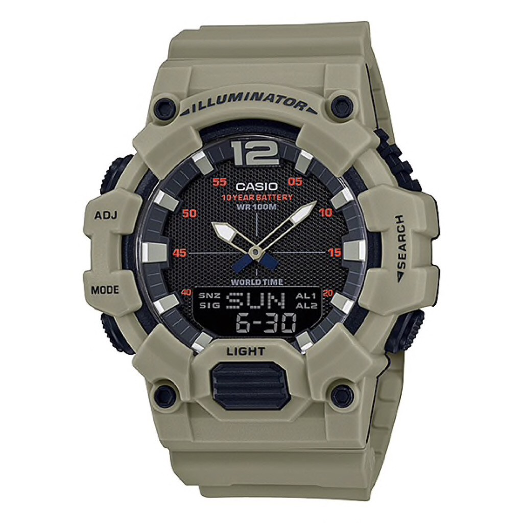 นาฬิกาผู้ชาย CASIO รุ่น HDC-700-3A3 ORIGINAL - HDC700 KREM