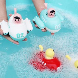 Cute Bath Toys Water Safe Material Baby Wind Up Submarine Toy Popular Clockwork Toy for Children