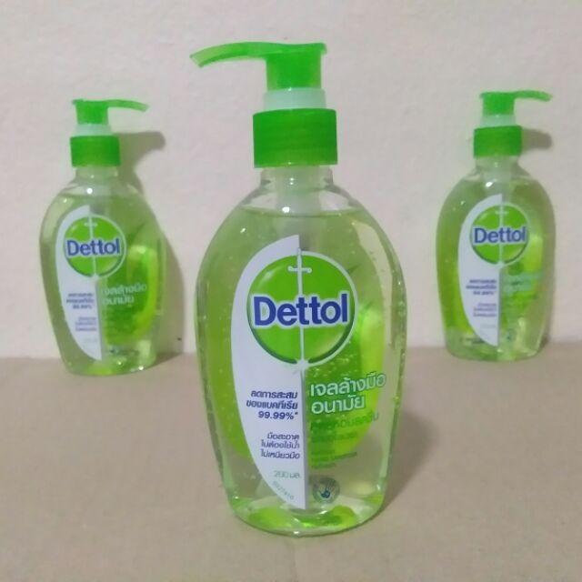 เจลล้างมืออนามัย Dettol 200มล.