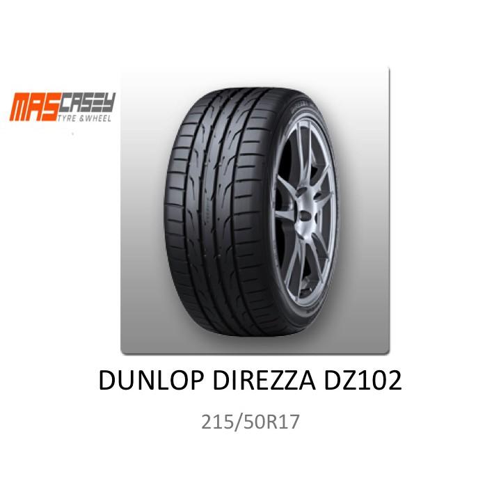 ยางรถยนต์ DUNLOP DIREZZA DZ102 215/50R17
