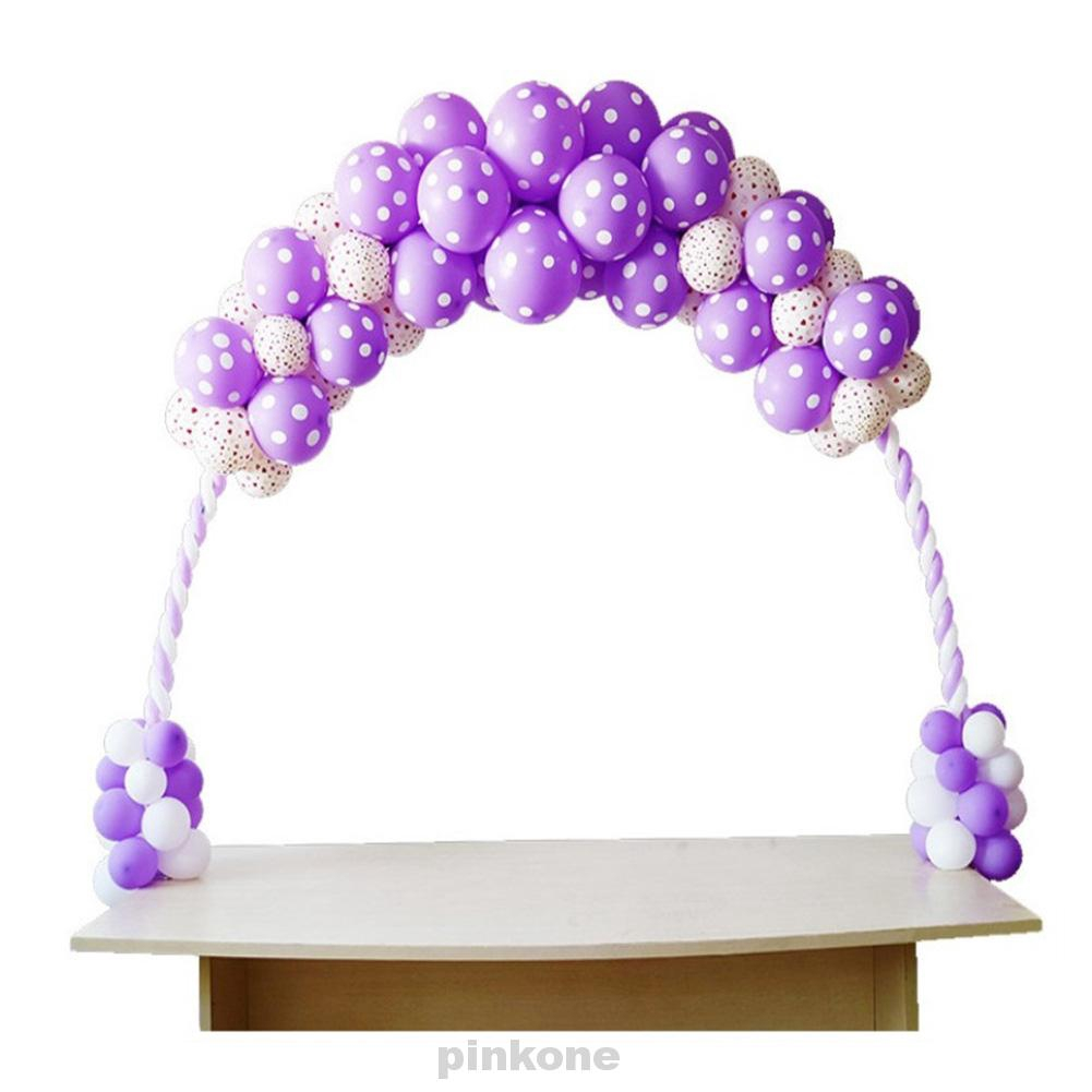 Fiber Table Balloon Arch Stand Column Base Frame Kit DIY Birthday Wedding Party