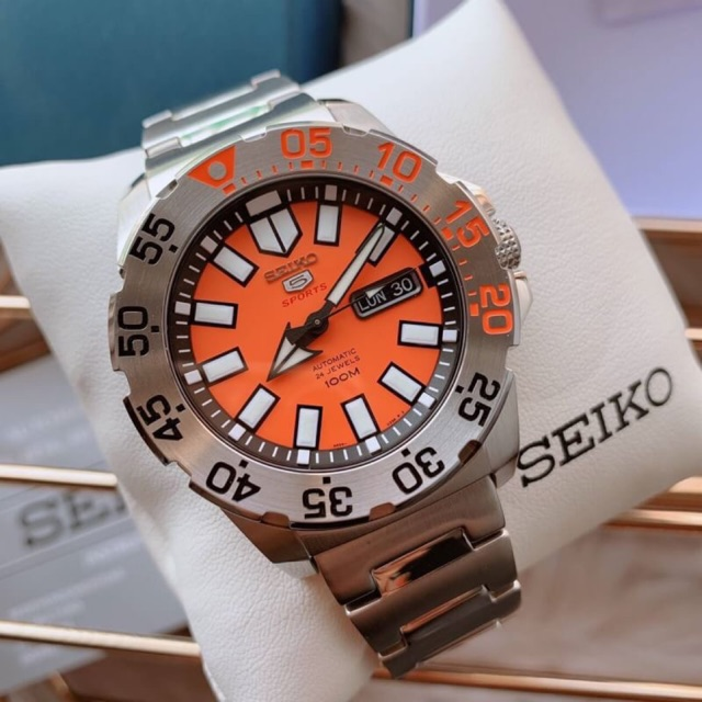 Seiko 5 Sports Monster Collection Mini Monster