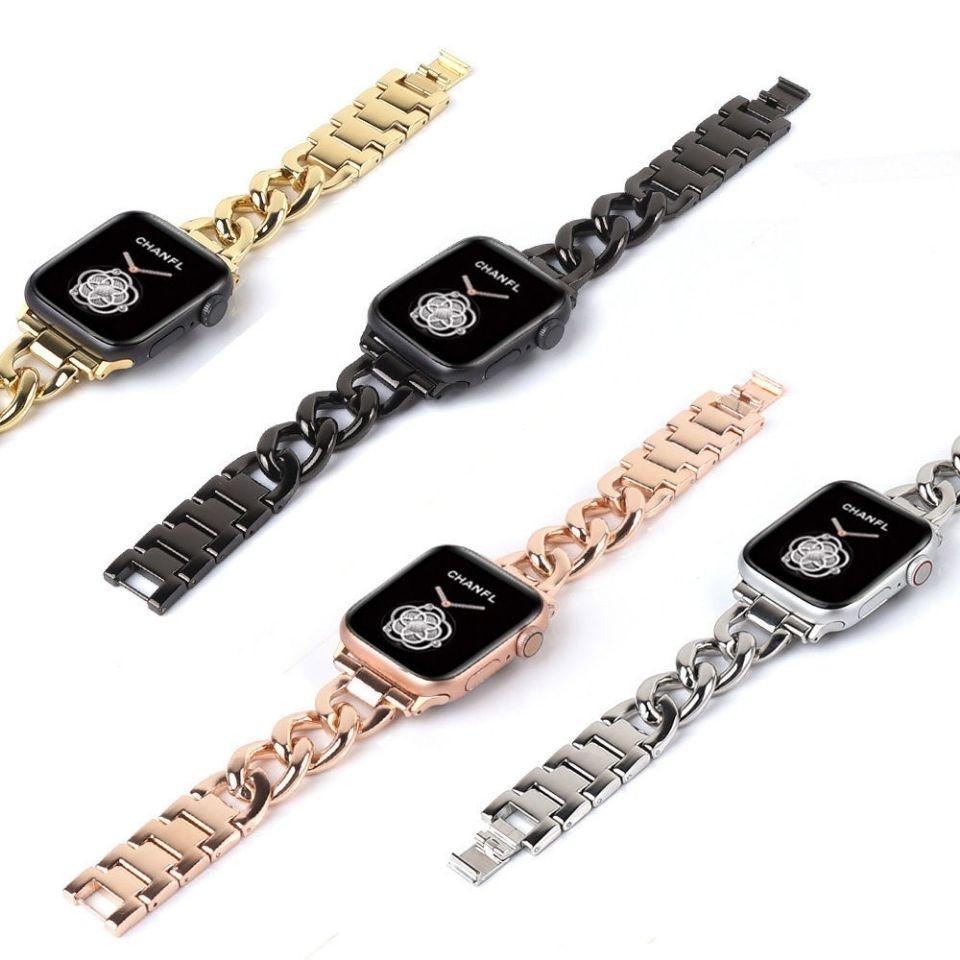 สายนาฬิกาข้อมือผ้ายีนส์ Applewatch Applewatch 123456se
