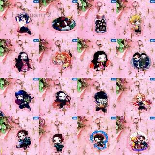 Review haoxuanr2 Demon Slayer: Kimetsu no Yaiba Acrylic Keychain Keyring Cosplay Anime Gift Keychains