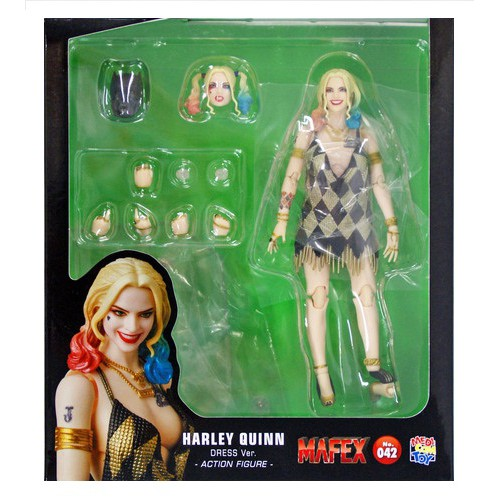 Medicom Toys Mafex No.042 Suicide Squad HARLEY QUINN in Dress Action Figure