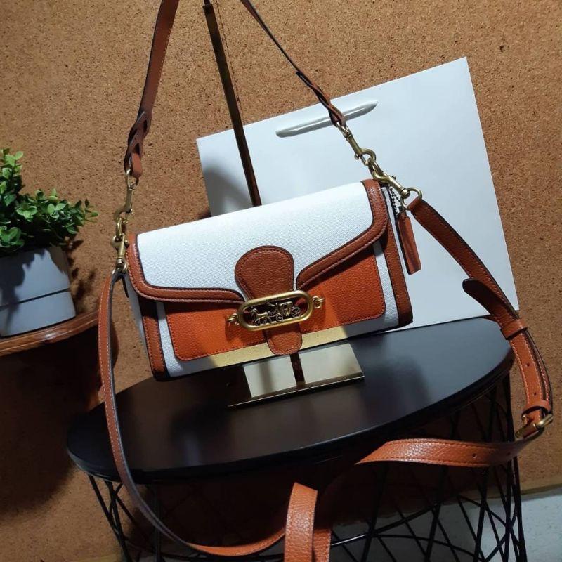 กระเป๋าสะพายข้าง COACH 1937 JADE SHOULDER BAG
