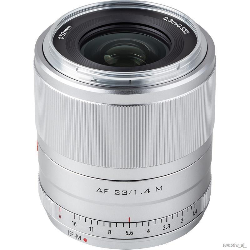 ♕﹊Victor Canon 23mm/33mm/56mm F1.4 เลนส์อัตโนมัติ Canon M mount เลนส์กล้องไมโครเดี่ยว
