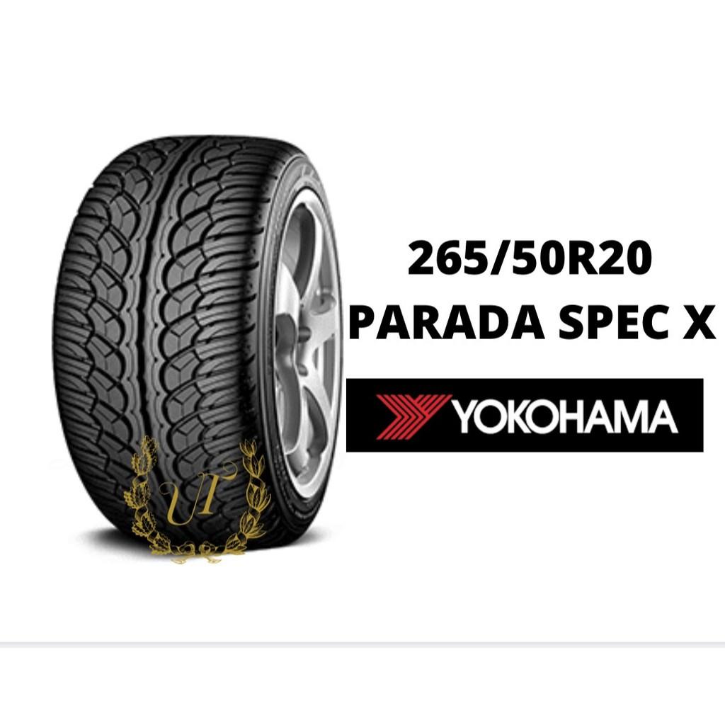 ยางรถยนต์ 265/50R20 PARADA SPEC X YOKOHAMA