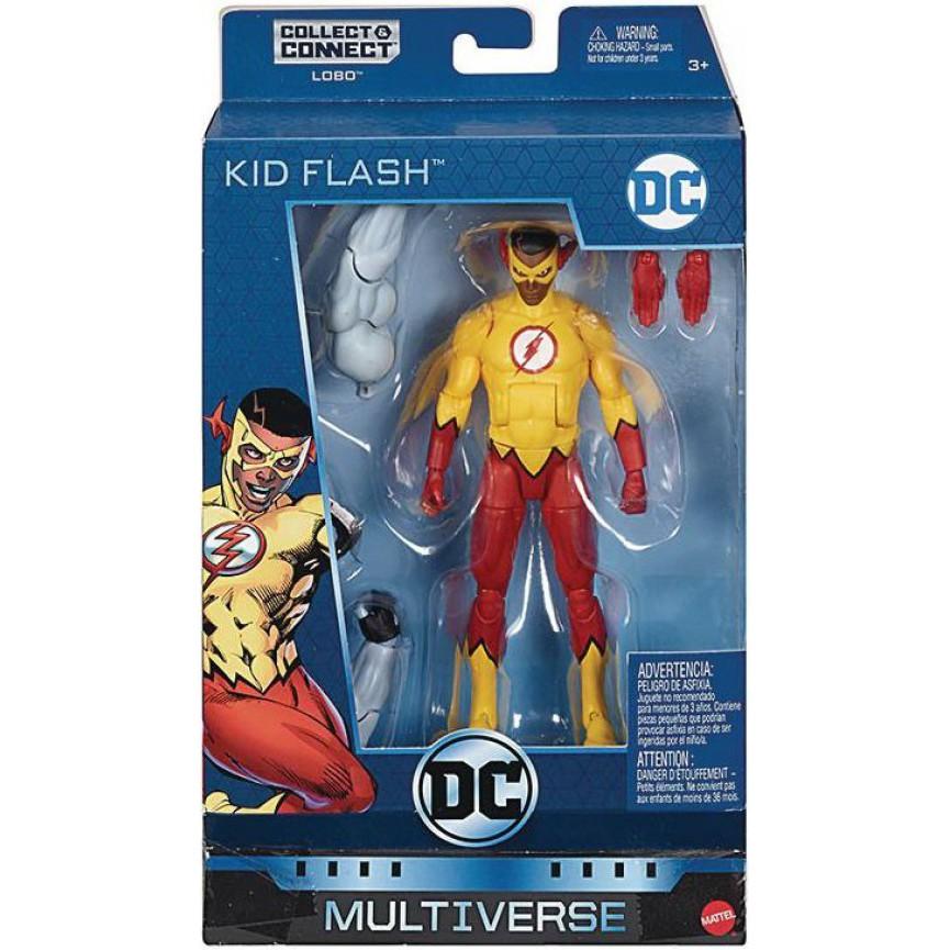 Teen Titans Action Figure Wallace West DC Multiverse Lobo Series Kid Flash